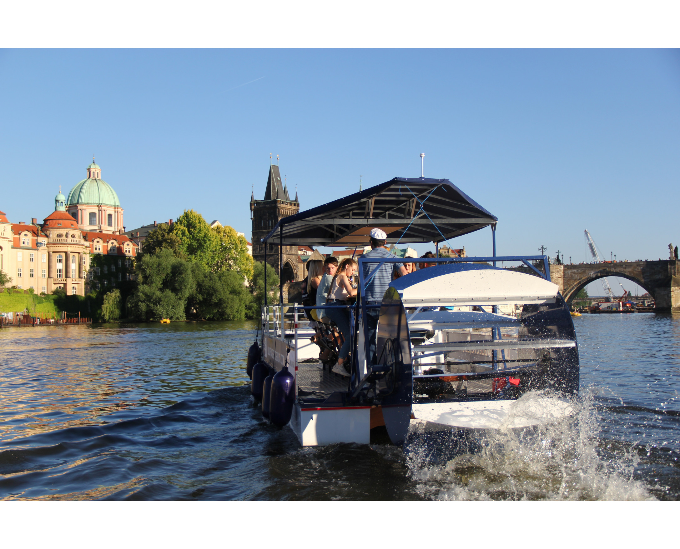 Prague Cycle Boat — Book a seat